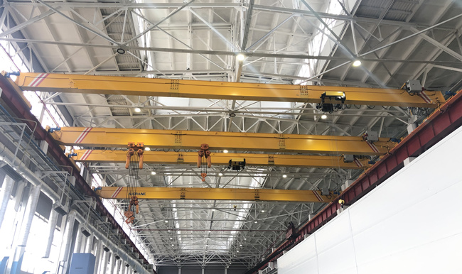 HD overhead cranes for our customers