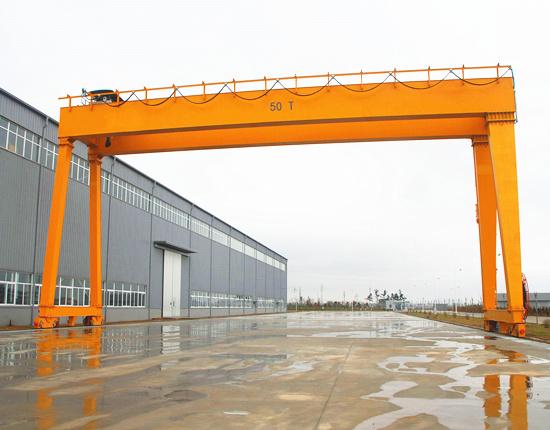 MG50ton gantry crane with good quality