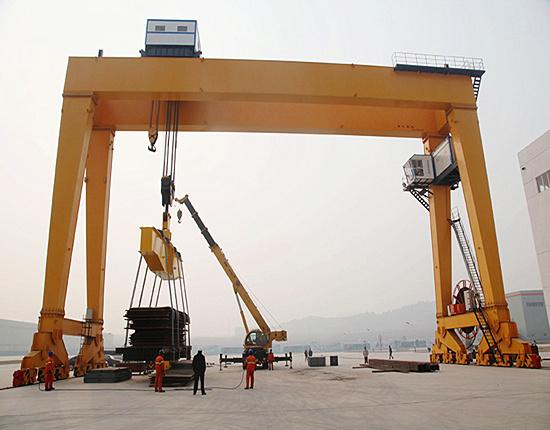 double girder gantry crane for sale