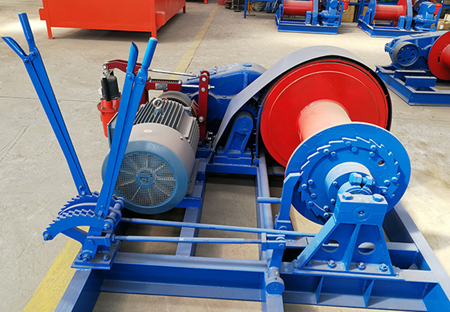 electric piling winch