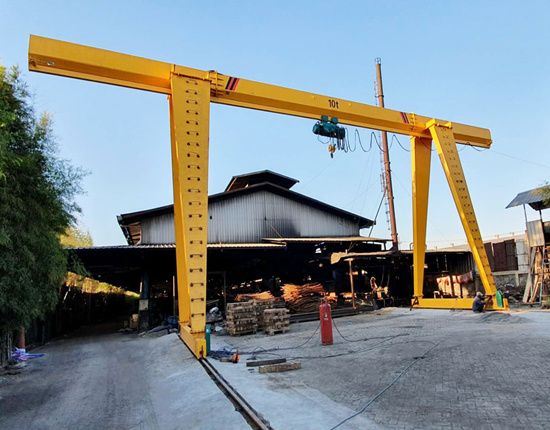 gantry crane for sale with good quality