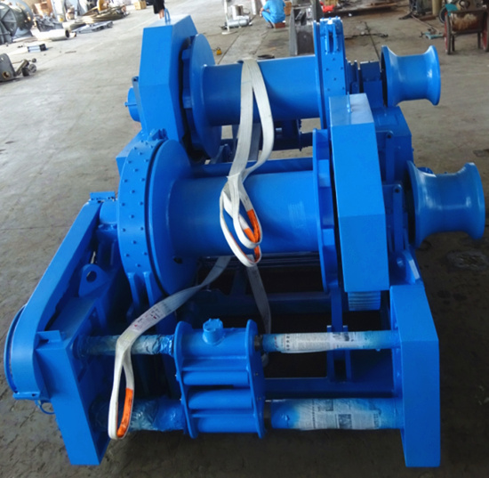 waterfall style mooring winch for sale