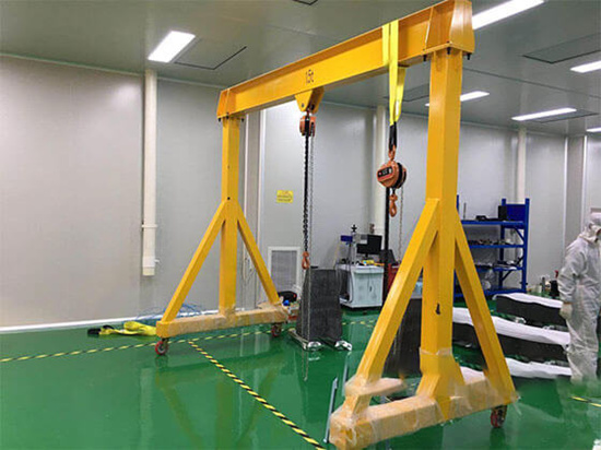 portable gantry cranes with good price