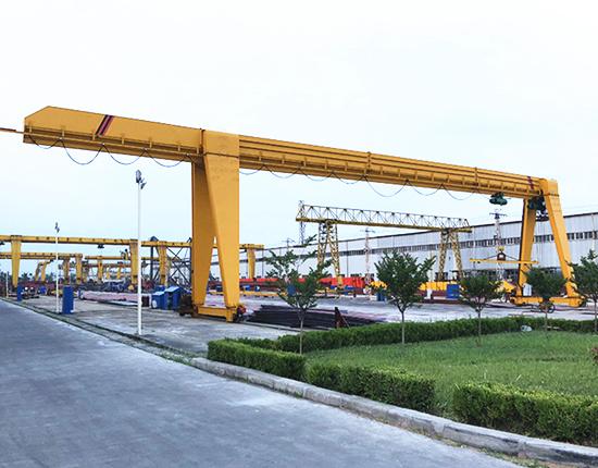 single girder hoist gantry crane