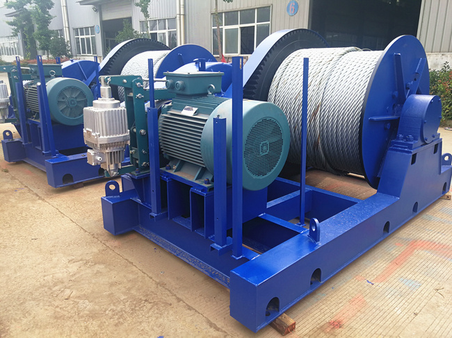 slow speed winch with good quality