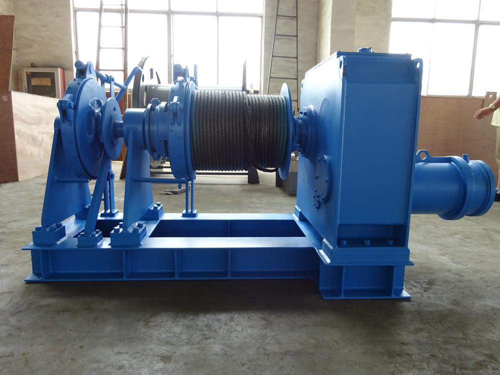 electric marine winch