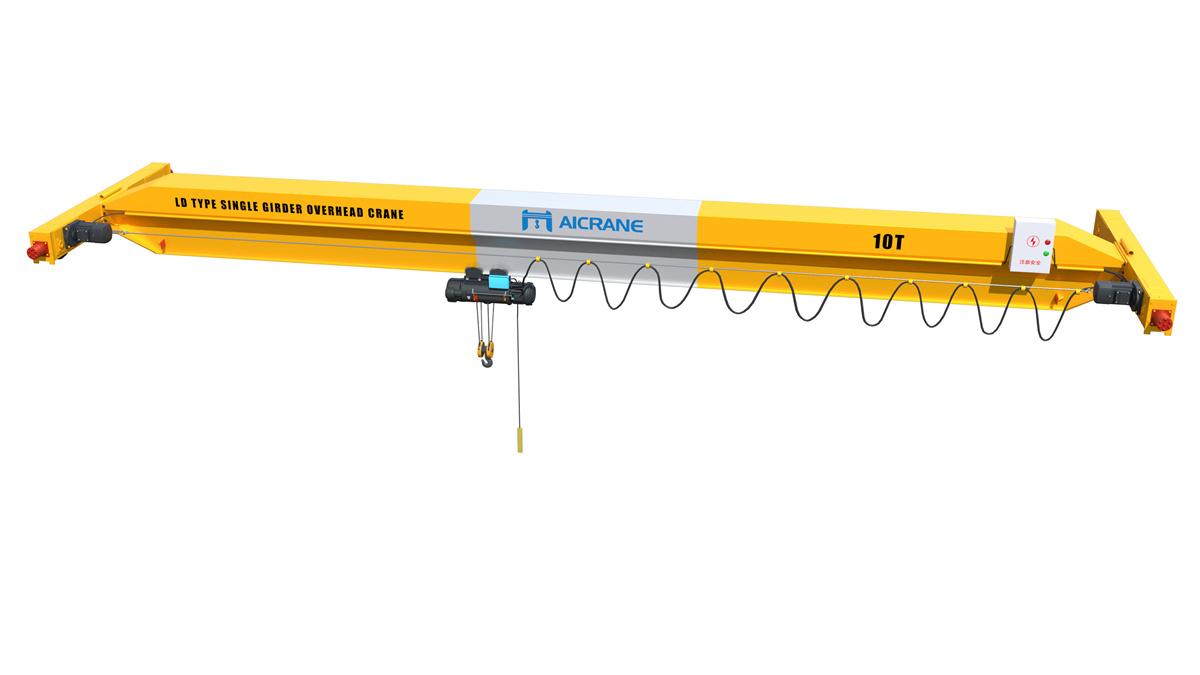 10ton overhead crane
