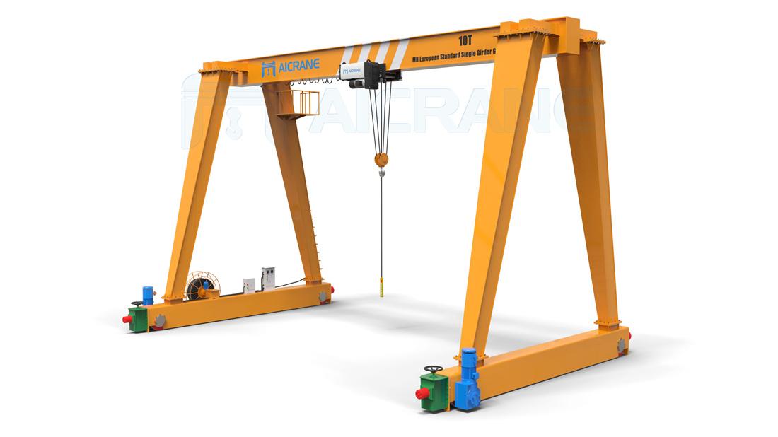 Aicrane 10ton crane