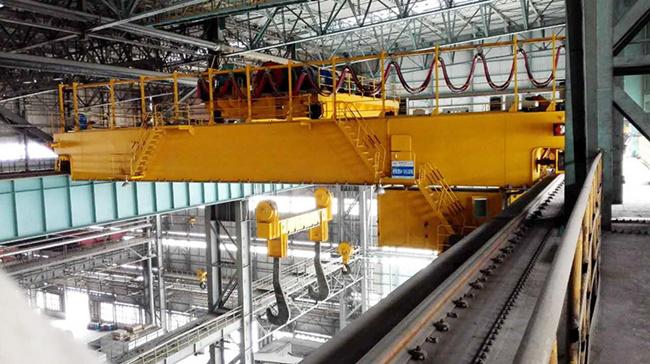125ton foundry crane