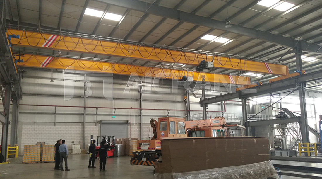 single girder crane in Saudi Arabia
