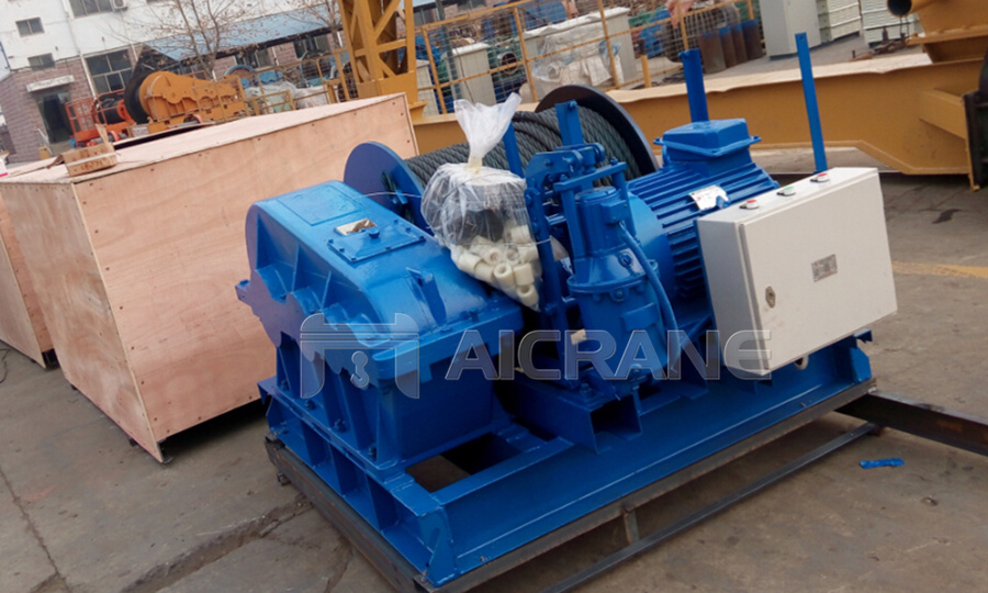 10ton Electric Winch for Our Customers from UAE
