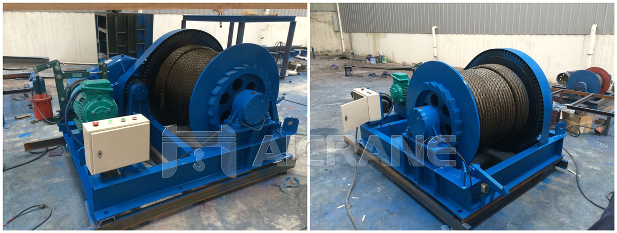 12ton electric winch
