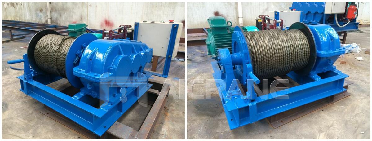 3 ton winch in Indonesia