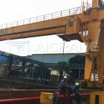 Gantry Crane Installed for Our Customers from Thailand