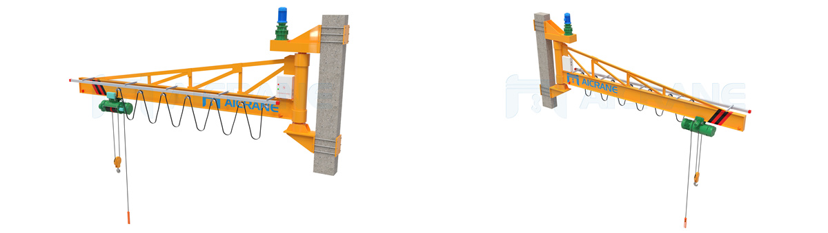 Aicrane wall mounted jib crane