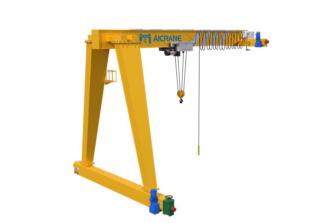 BMH semi gantry crane