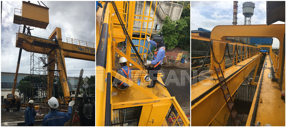 5ton Gantry Crane Installed in Thailand