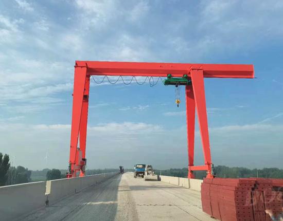 10 ton single girder crane for sale