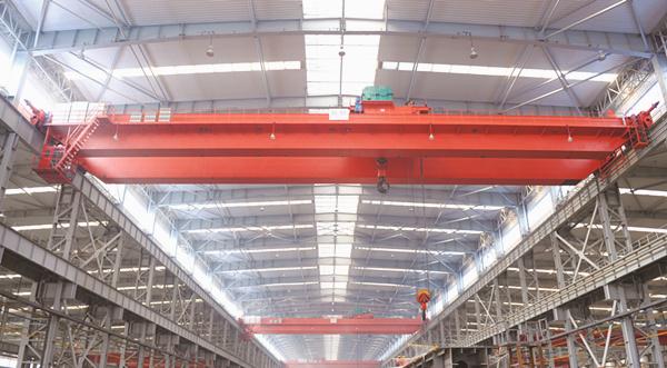 European standing overhead crane