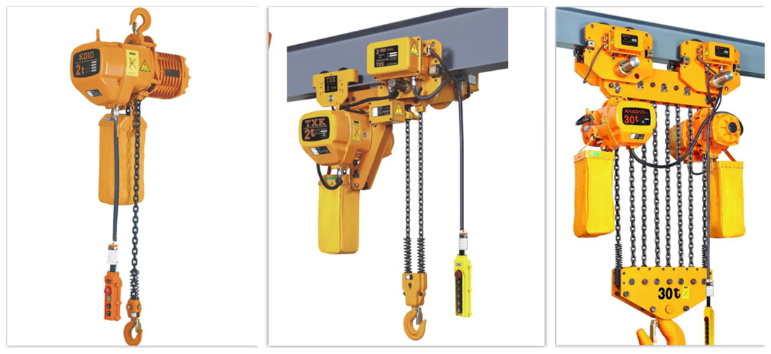 electric chain hoists for sale