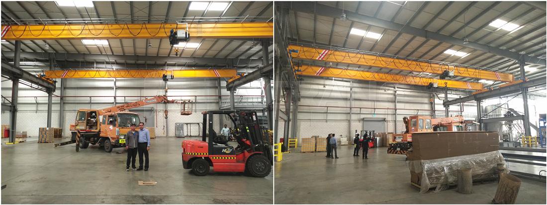 5ton overhead crane in Saudi Arabia
