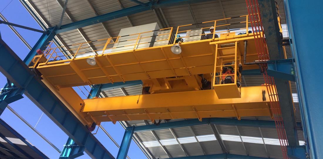 double girder crane in Chile