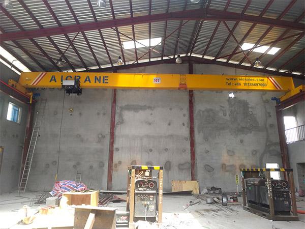 single girder crane in Nigeria