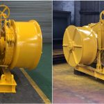 10ton Electric Marine Winch for Our Customers from Hong Kong