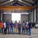 30ton Overhead Crane Installed in Nigeria