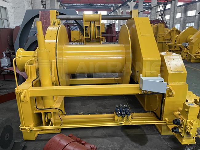 30 ton mooring winch