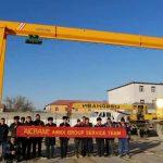 3 Sets of Gantry Cranes Installed in Uzbekistan