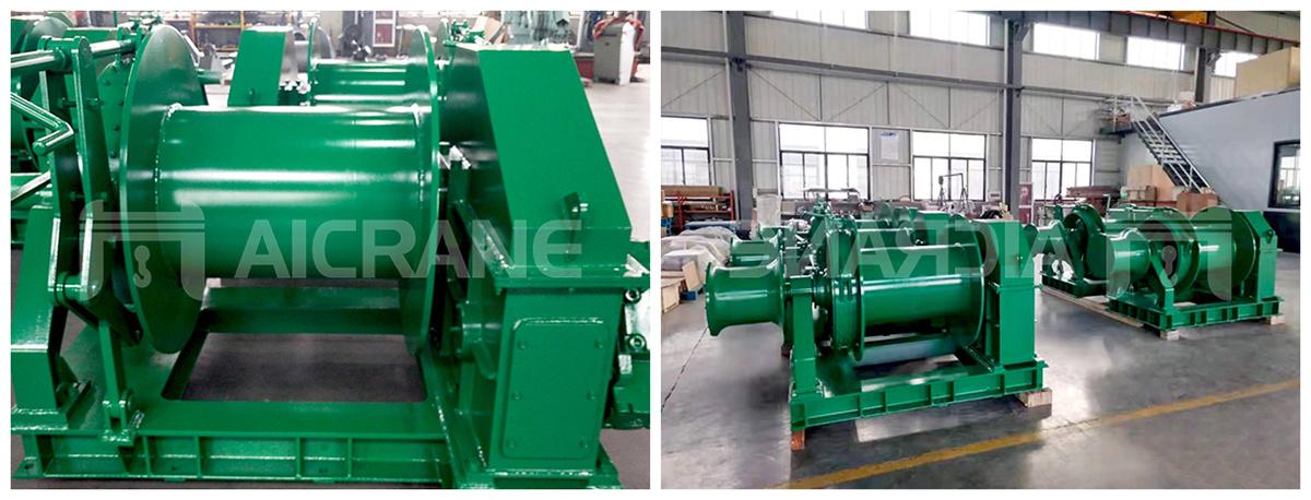 10ton hydraulic winch for sale