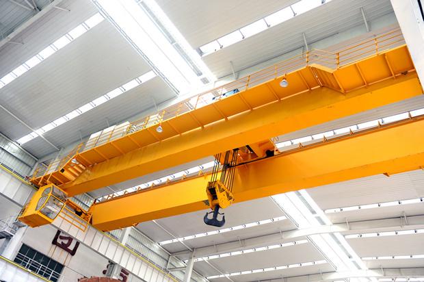 European style double girder crane