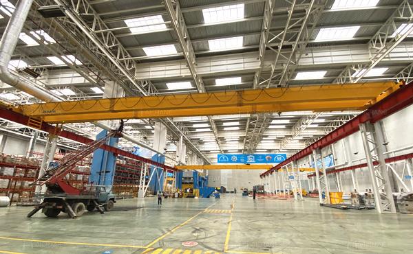 10T overhead crane for sale in Uzbekistan