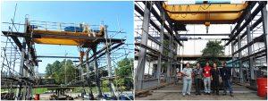 double girder overhead crane in Thailand