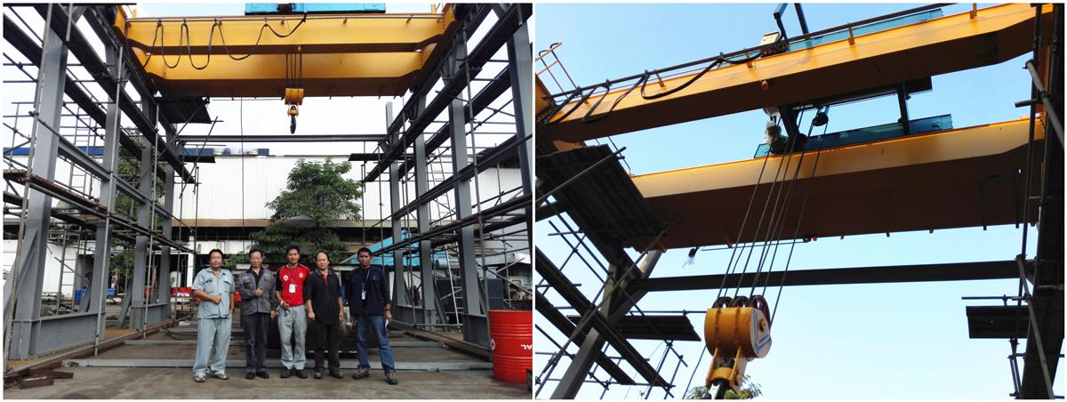 double girder hoist overhead crane